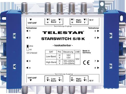 STARSWITCH 5/8 K inkl. F Schnellverbinder