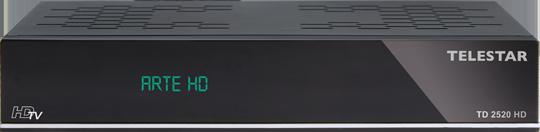 TD 2520 HD, schwarz